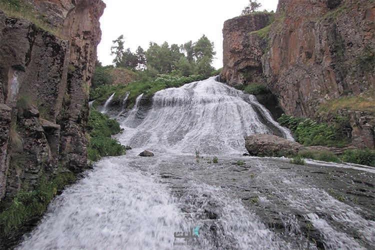 جرموک شهر چشمههای آب گرم در تور ارمنستان