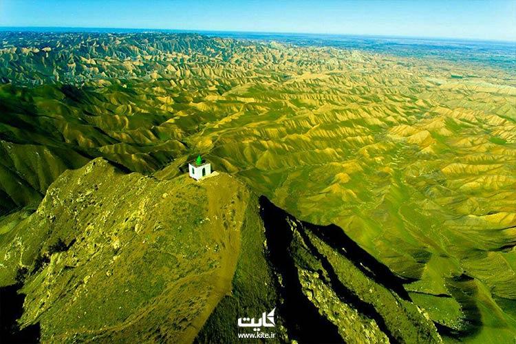 بازدید از خالد نبی در تور ترکمن صحرا
