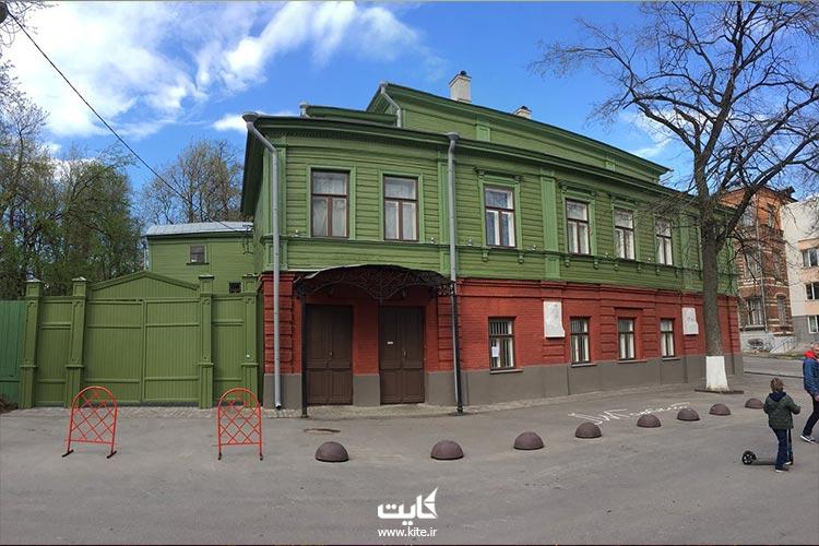 خانهموزه-ماکسیم-گورکی-در-نیژنی-نووگورود-روسیه