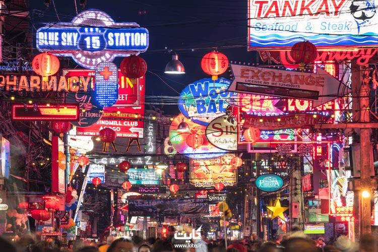 خیابان-پیادهروی-پاتایا-تایلند