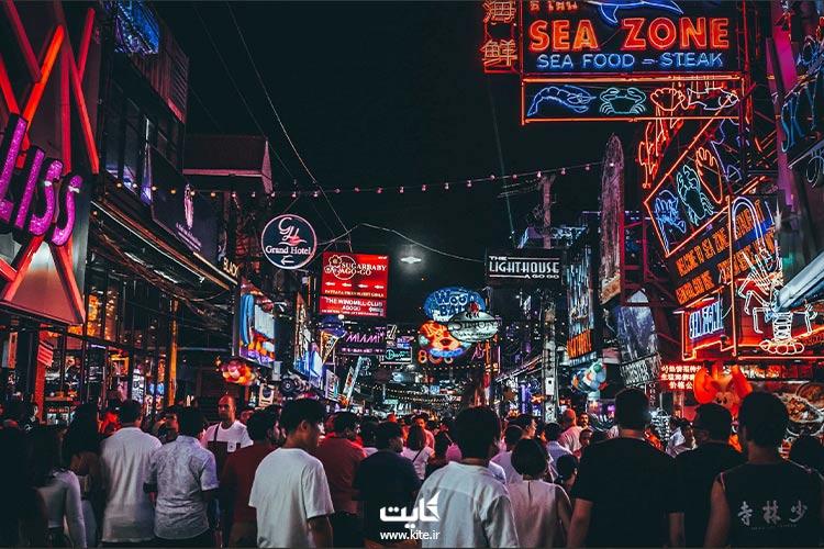 خیابان-پیادهروی-از-مناطق-محبوب-پاتایا