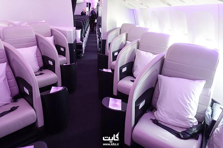 داخل-کابین-بهترین-هواپیمایی-جهان،-ایرنیوزلند