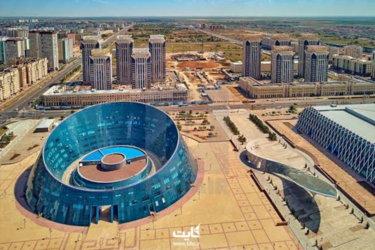 دانشگاه-هنر-ملی-قزاق-از-جاذبههای-قزاقستان
