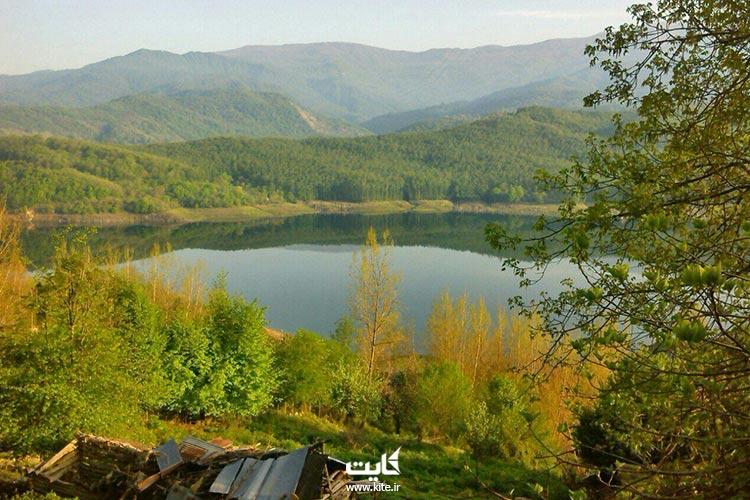 دریاچه-لفور-سوادکوه-کجاست؟