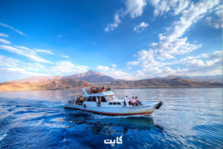 دریاچه وان ترکیه