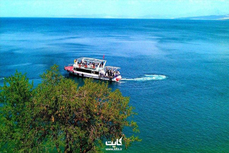 بزرگترین دریاچه ترکیه در تور وان