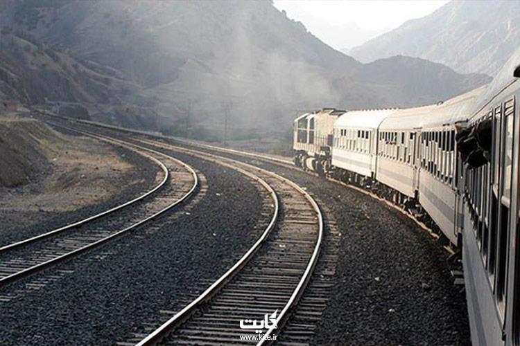 بازدید از راه آهن ریشن