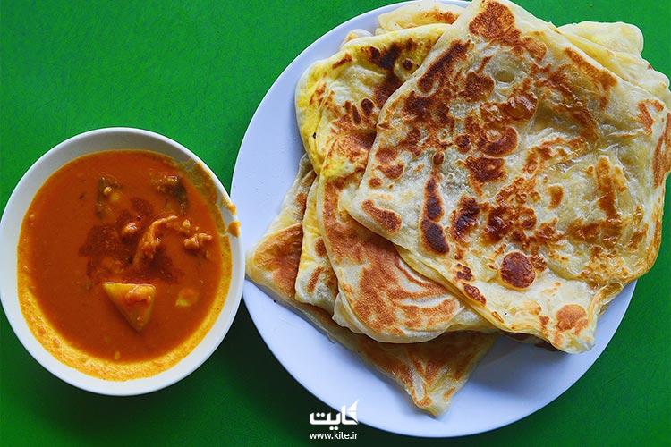 روتی-کانای-از-بهترین-غذاهای-مالزی