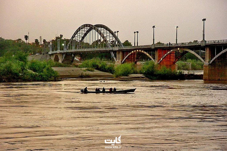 رودخانه کارون اهواز
