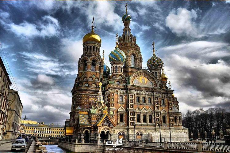 دیدن جاذبه طبیعی شبهای سفید در تور روسیه