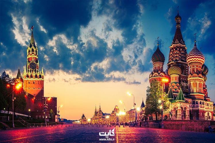 تور روسیه را از کایت تهیه کنید