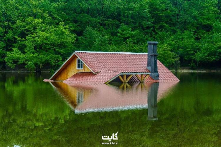 زیبایی-بکر-دریاچه-سقالکسار