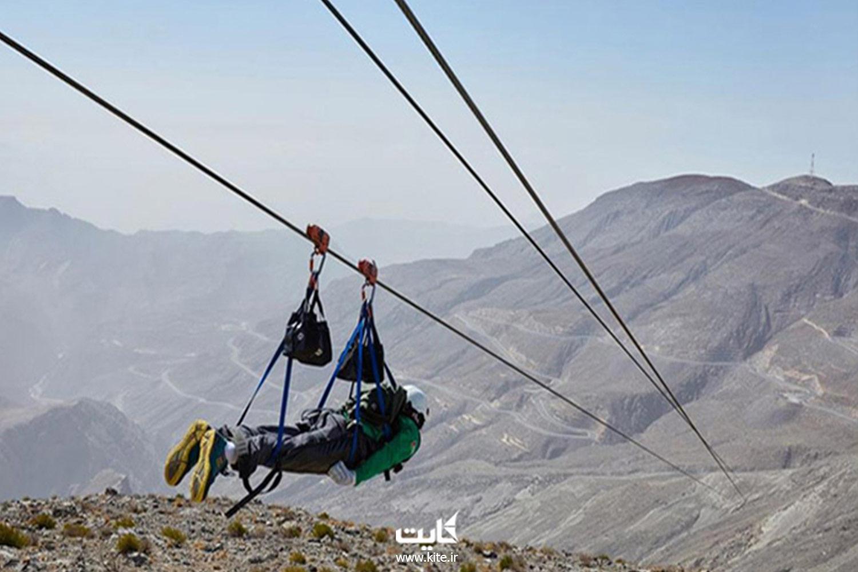 زیپ لاین دراک شیراز