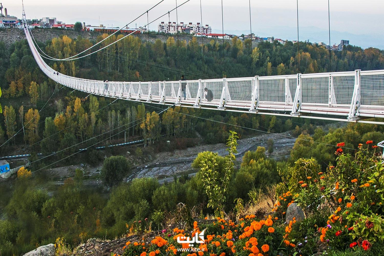 زیپ لاین پل معلق مشگین شهر اردبیل