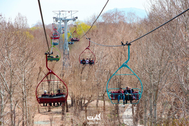 زیپ لاین کوه صفه اصفهان