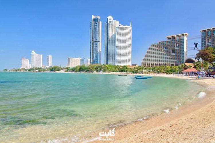 ساحل-جومتین-از-جاذبههای-تفریحی-پاتایا
