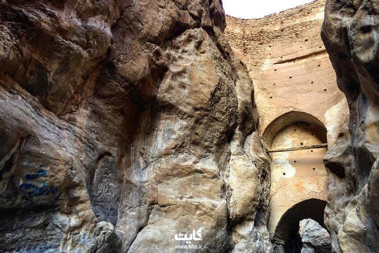 سد شاه عباسی طبس ، یکی از شگفتیهای معماری دوره باستان ایران