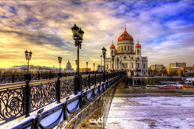 سن پترزبورگ با تور روسیه