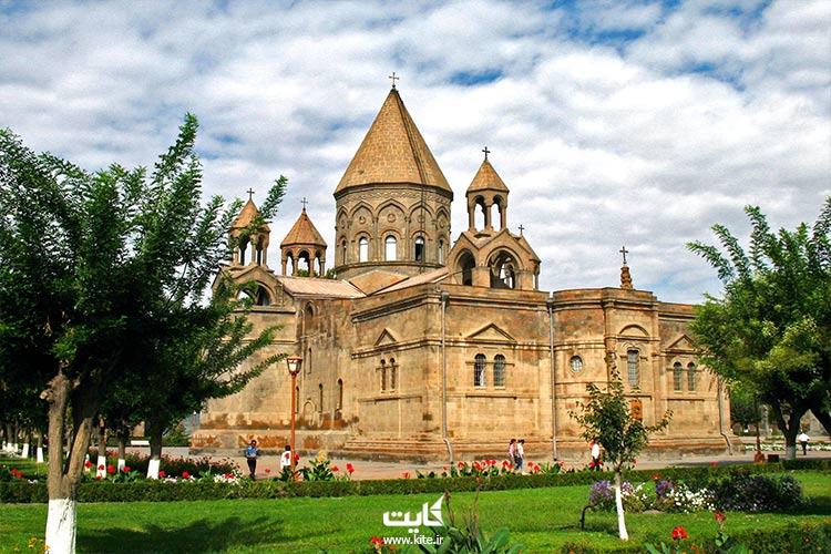 شهر مذهبی اجمیازین پایتخت قدیمی ارمنستان
