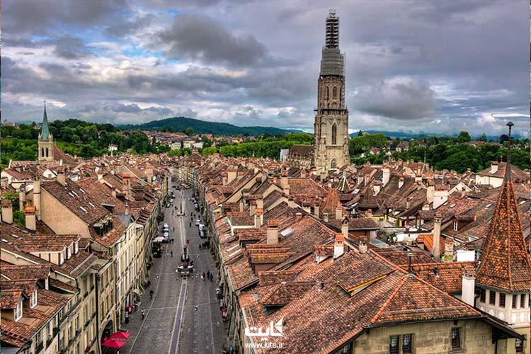 برن شهری به جا مانده از قرون وسطا