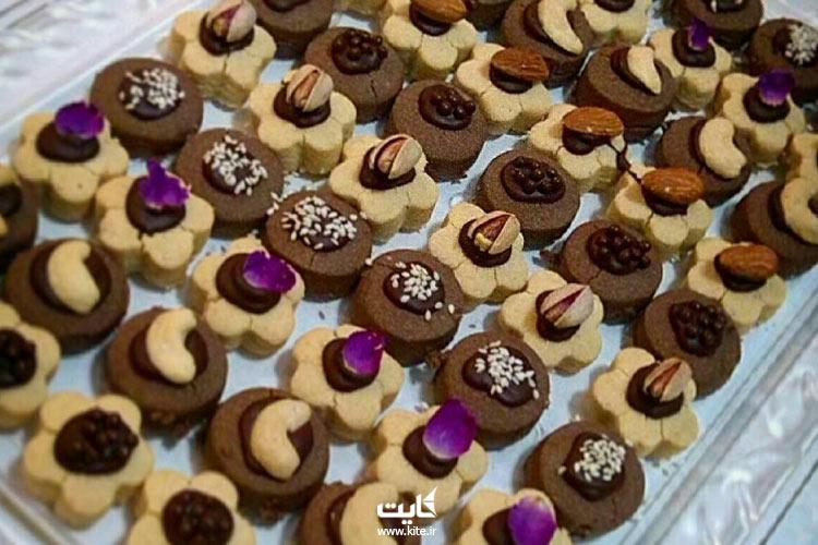 شیرینی-اتابکی-از-سوغات-قزوین