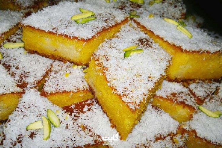 شیرینی-شربتی-از-سوغات-قزوین