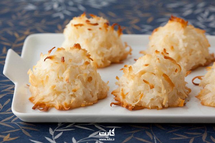 شیرینی-نارگیلی-از-سوغات-قزوین