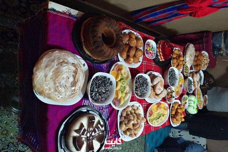 عصرانه هیجانانگیز در تور ترکمن صحرا