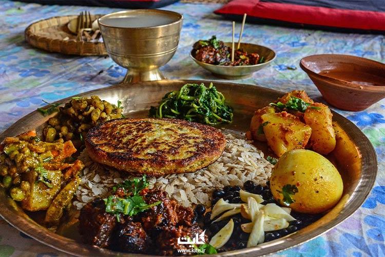 غذاهای-نپال
