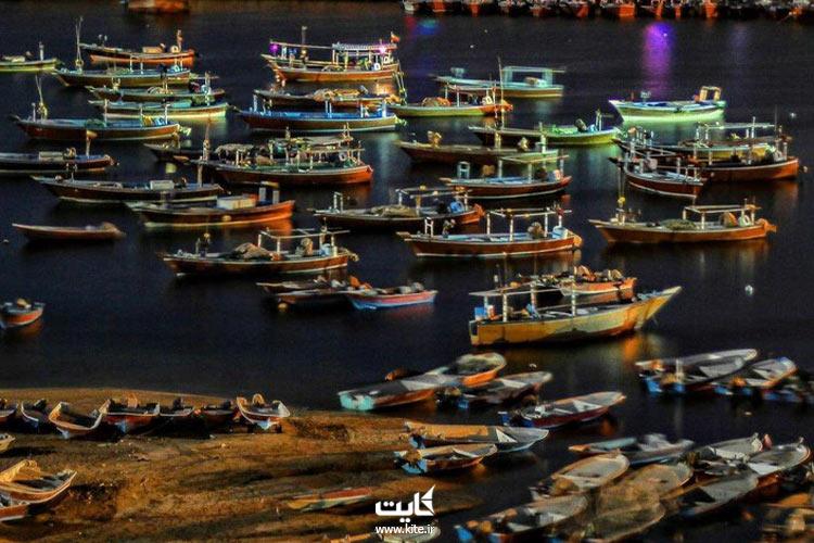قایق سواری در خلیج گواتر