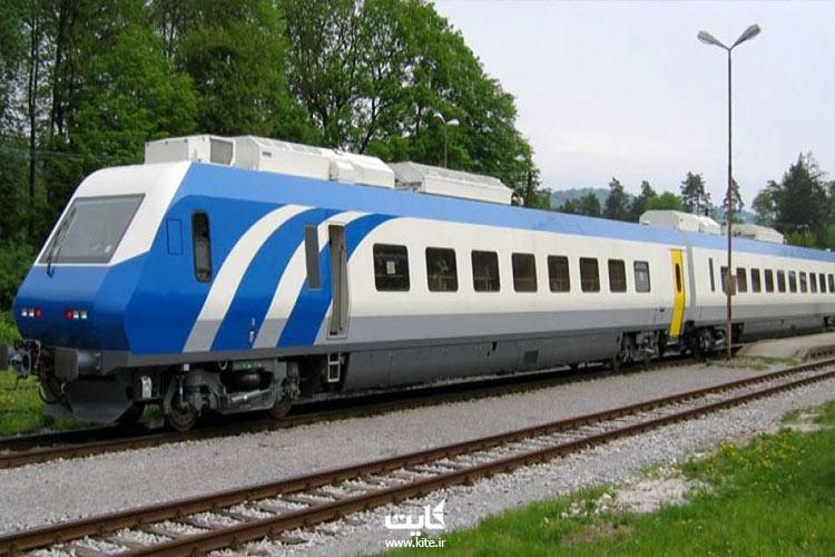مسیری که قطار تهران به وان طی میکنه