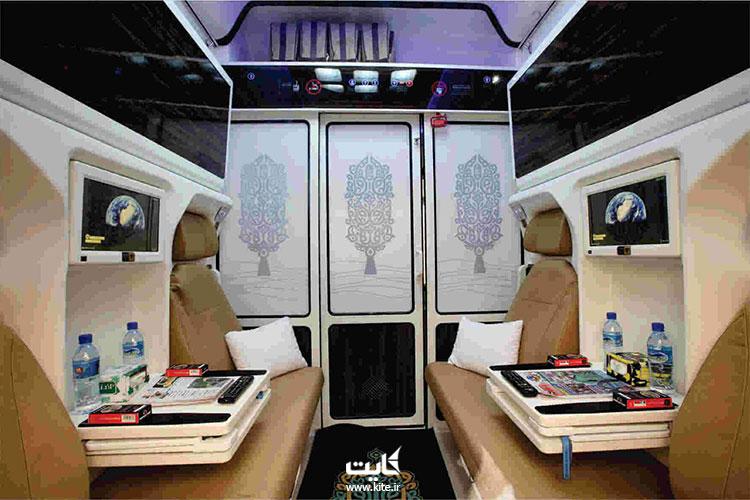 وسایل همراه و اندازه چمدان مجاز همراه مسافر در قطار تهران به وان
