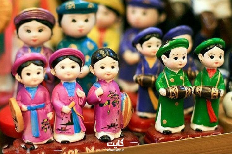 وسایل لاکی هنریترین سوغات هانوی در تور ویتنام