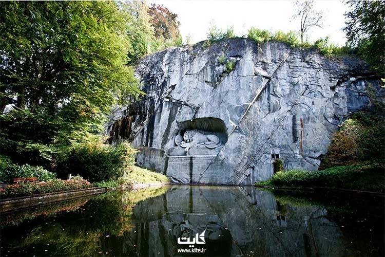 بازدید از مجسمه شیر لوسِرن