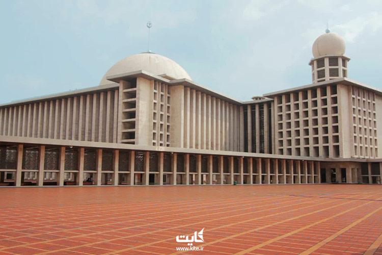 مسجد-استقلال-از-بزرگترین-مساجد-جهان