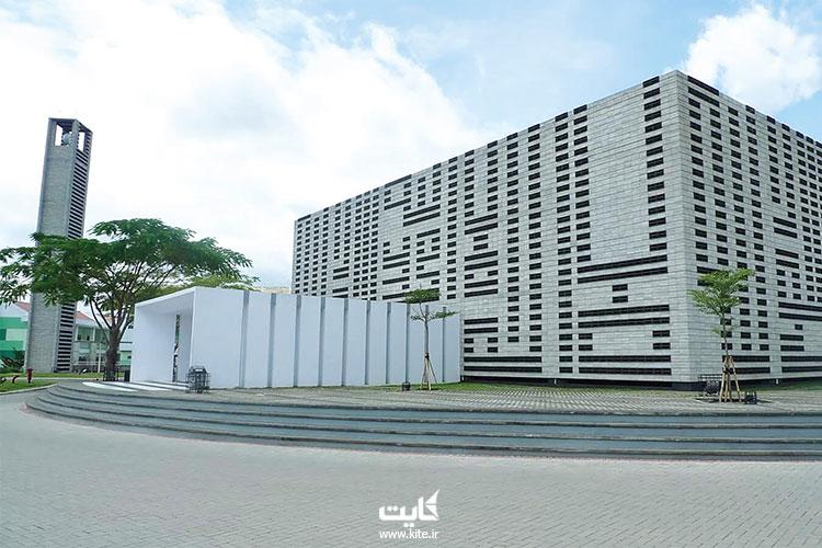 مسجد-الاِرسیاد-از-جذابترین-مساجد-اندونزی