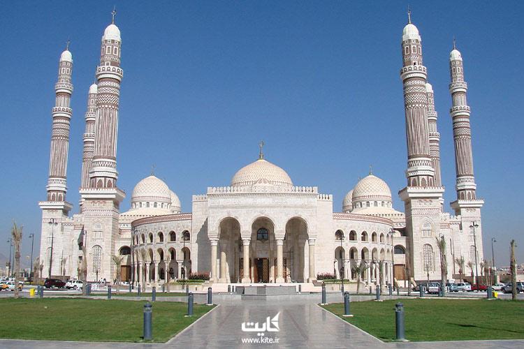 مسجد-الصالح-از-بزرگترین-مساجد-جهان