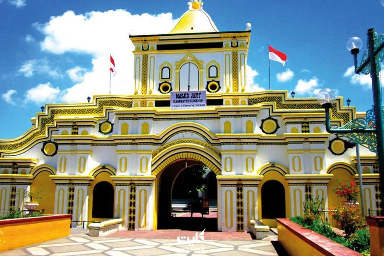 مسجد-بزرگ-سومنپ-از-جذابترین-مساجد-اندونزی