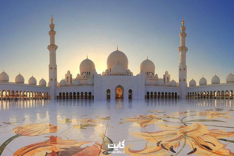مسجد-شیخ-زائد-از-بزرگترین-مساجد-جهان