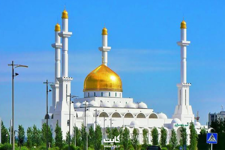 مسجد-نور-آستانه-از-جاذبههای-قزاقستان
