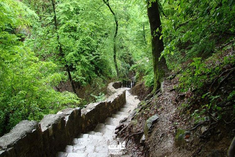 مسیر-دسترسی-به-آبشار-کبودوال
