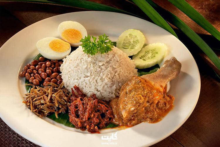 ناسی-لماک-از-بهترین-غذاهای-مالزی
