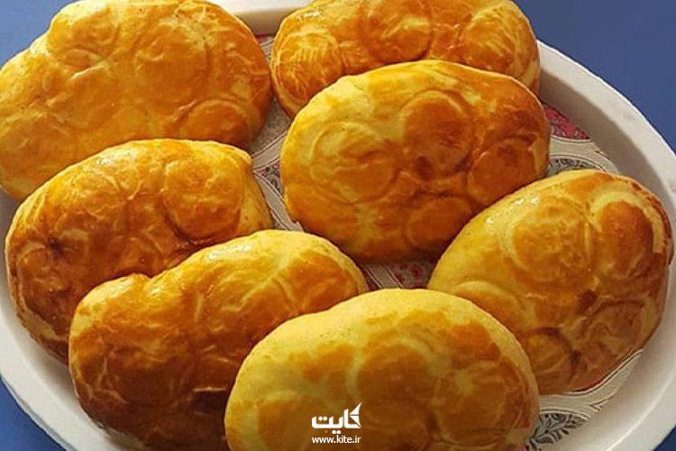 نان-سنتی-اَگِردَک-از-سوغات-قزوین