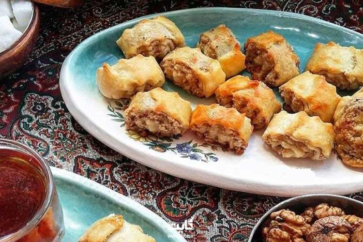 نان-نازک-از-سوغات-قزوین