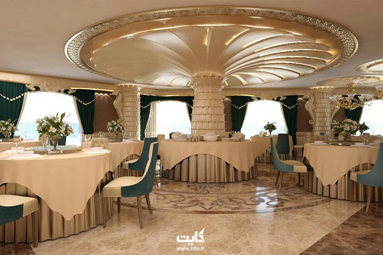 نمایی-از-رستوران-هتل-لیپار-چابهار