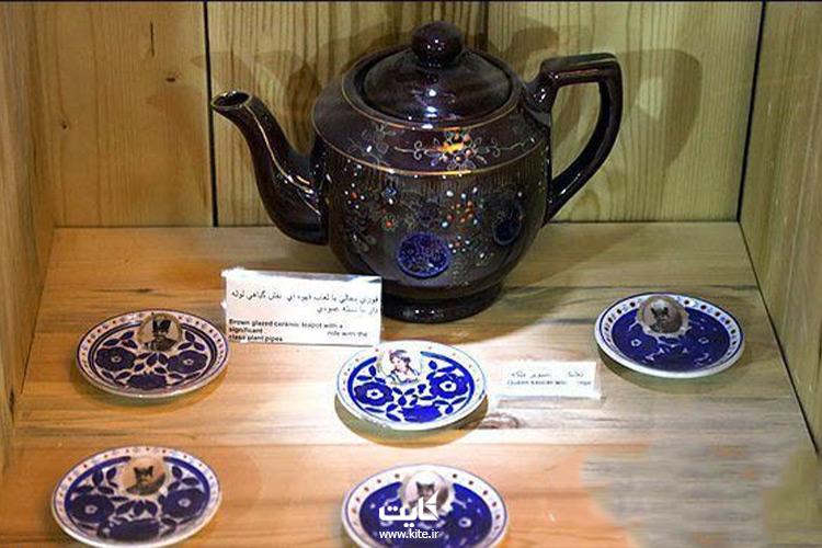 نمایی از موزه چای لاهیجان