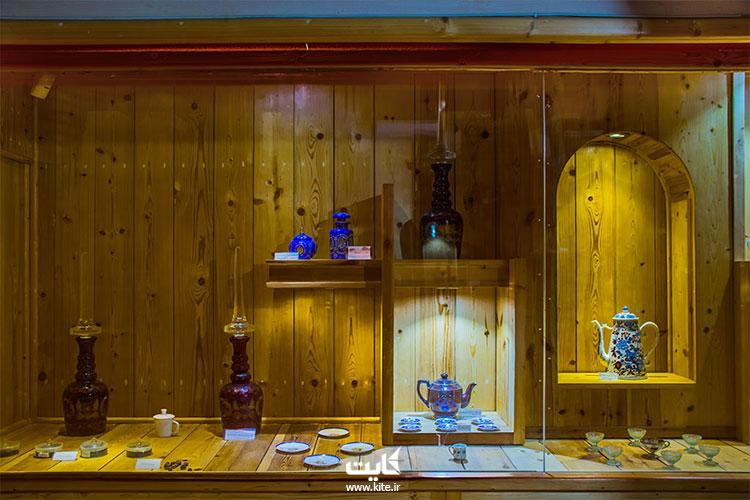 نمایی داخلی از موزه چای لاهیجان