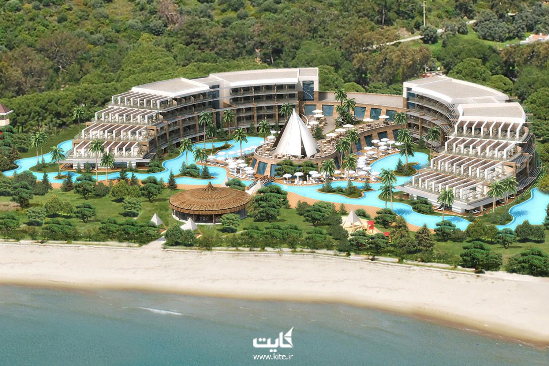هتل ساحلی Paloma pasha