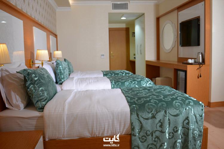 اتاقهای دوتخته هتل هالدی