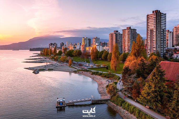 ونکوور، بهترین شهر کانادا برای زندگی